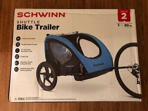 SCHWINN Shuttle Bike Trailer 2-Seater (New in Box)