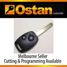 Complete Key & Remote to suit Honda Jazz, 2006-2007 (Aftermarket)
