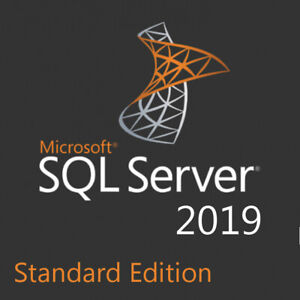 SQL Server 2019 Standard License Key 16 CPU Cores - Unlimited CAL - with ISO