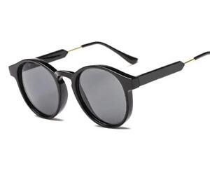 Classic Unisex UV400 Round Sunglasses Men Women Retro Frame Brand Shades Design