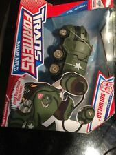 Transformers Animated Voyager Bulkhead New In Box Has Wear On Bubble
