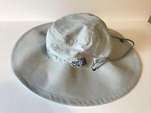 The North Face Vented Wide Brim Sun Hat Size L/XL Unisex Color Gray