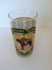 1981 OFFICIAL KENTUCKY DERBY MINT JULEP GLASS