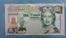 2000 Gibraltar  £5  'Commemorative' <P-29> GEM UNC Millennium issue & Low No.