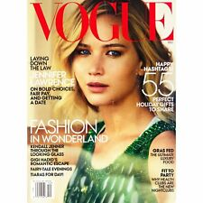 Vogue Magazine Issue Dec 2015 (Jennifer Lawrence Cover)