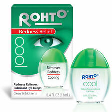 Rohto Cool Redness Relief Eye Drops 0.4 oz cooling