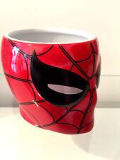 "Brand New Disney Marvel Spiderman Homecoming Tea Cup Mug ""Eyes Move when Hot"""
