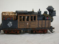 Climax Logging Locomotive - custom weathered with Tsunami DCC + Sound - lot 15
