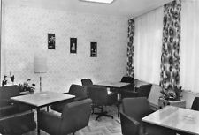 """AK, Jessern Kr. Lübben, Ferienheim """"Seeperle"""", Blauer Salon, 1978"""