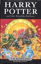 Harry Potter & The Deathly Hallows By J. K. Rowling - 1st Edition Hardcover HC