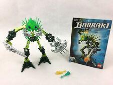 LEGO Bionicle Barraki EHLEK (8920) Complete Model With Original Instructions