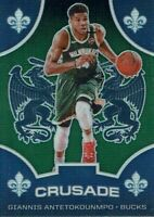 NBA Panini Trading Chronicles 2019/2020 Card No 528 Giannis Antetokounmpo Green