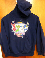 MIGHTY MORPHIN POWER RANGERS hooded sweatshirt XS hoodie SPD 2005