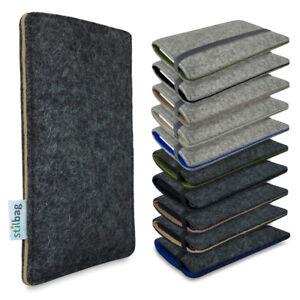 Filz Tasche - Apple iPhone X - NATURE COLL. - Stilbag FINN Handy Schutz Hülle