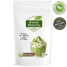 Sweet Matcha Green Tea Powder (16oz/453g) China Matcha Japan Style; Culinary