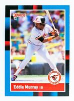 Eddie Murray #231 (1988 Donruss) Baseball Card, Baltimore Orioles, HOF