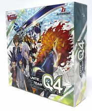 Cardfight!! Vanguard G Unite! Team Q4 Factory Sealed Booster Box VGE-V-BT01