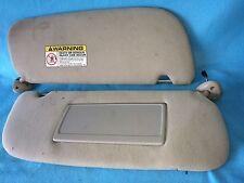 98-2001 Dodge Ram Sunvisors Light/Mirror PAIR Used Condition