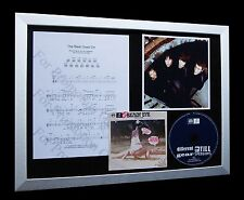 BEADY EYE / OASIS The Beat Goes On LIMITED Nod CD GALLERY QUALITY FRAMED DISPLAY