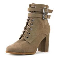 Botas de mujer Madden Girl color principal marrón de lona