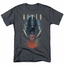 Alien Movie Creature Face with Bloody Jaw T-Shirt, New Unworn