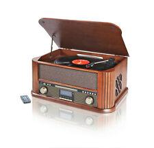 Nostalgie Musikanlage Encoding DAB+ Plattenspieler usb kassette MP3 CD RADIO HOL