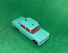 Matchbox Lesney 56 Fiat 1500 Green Vintage Car No Luggage