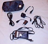 Dell Laptop Travel Kit PA-12 Auto Air AC/DC Power Adapter 125v Volex 5.0V Charge