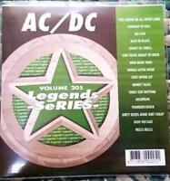 LEGENDS KARAOKE CDG AC/DC 1970'S-1980'S ROCK #205 16 SONGS CD+G HELLS BELLS