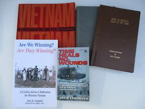 Vietnam War History Personal Accounts True Stories Military Veterans Memoirs Lot