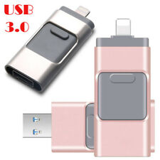 16/512GB Flash Drive USB 3.0 Memory Stick U Disk Pendrive for iPhone iPad PC Lot