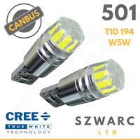Bright Canbus Led Side Light 501 194 W5w T10 Smd Super White Bulbs 194 801 Uk