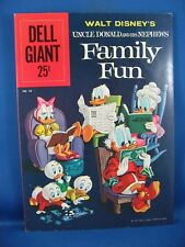 Dell Giant #38 - Walt Disney's Uncle Donald and His Nephews Family Fun 1960 VF