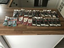 25 X Made Up Sea Rigs By Mustad, Cox & Rawle And Shakespeare In Packets Unused