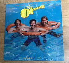 """LP US The Monkees"""" Pool it !"""" 1987  EXC"""