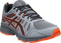 Men's ASICS GEL-Venture 7 Trail Running Shoe Carrier Grey/Habanero