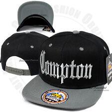 COMPTON Baseball Cap Snapback 3D Embroidery Adjustable Hat Flat Bill Hip Hop EZ