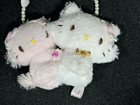 Sanrio Hello Kitty Charmmy Kitty Mini Plush Charm Doll Toy White Pink Japan 2.5""
