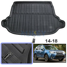 Fit For Subaru Forester 13-18 Rear Trunk Boot Liner Cargo Mat Floor Tray Carpet