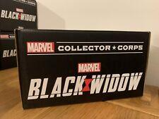 Funko Pop! Marvel Collector Corps Black Widow (Full Box)
