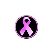Breast Cancer Awareness Ribbon - Metal Lapel Hat Pin Tie Tack Pinback
