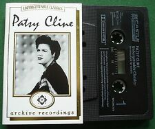 Patsy Cline Unforgettable Classics inc Lonely Street + Cassette Tape - TESTED