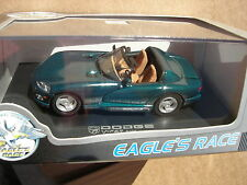 EAGLE RACE 1/43 DODGE VIPER RT/10 CABRIOLET 1996 VERT EMERAUDE !!!