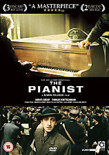 The Pianist DVD (2007) Adrien Brody Brand New and Sealed