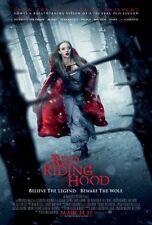 RED RIDING HOOD-orig 2011 D/S 27x40 REGULAR movie poster-AMANDA SEYFRIED, L.HAAS