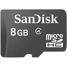 Lot 5 Pcs 8G SanDisk MicroSDHC Micro SD SDHC Memory Card 8GB 8 8 GB Class 4 US