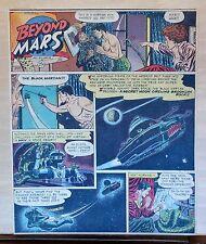 Beyond Mars by Jack Williamson - scarce full tab Sunday comic page Apr. 27, 1952