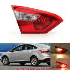 Left Side for Ford Focus Sedan 2012 13 2014 Inner Tail Light Rear Lamp Driver LH