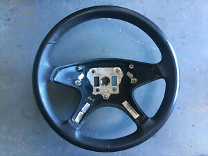 A2044600303 Mercedes C Class W204 leather steering wheel black