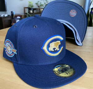 Chicago Cubs Myfitteds Exclusive Garrett Popcorn Craft Beer Pack 59Fifty 7 3/8